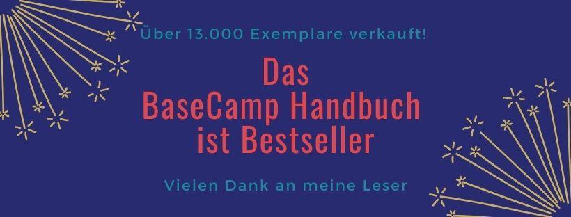 BaseCamp Handbuch ist Bestseller